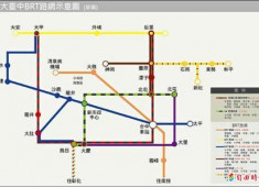 臺中捷運最新!BRT路網願景圖釋出!(含大眾運輸前景評論)