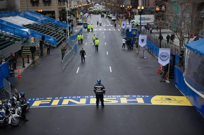 波士頓馬拉松爆炸案一周年紀念活動