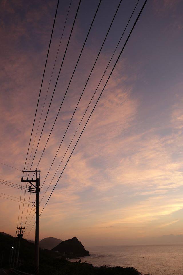 20140725朝霞in磯琦